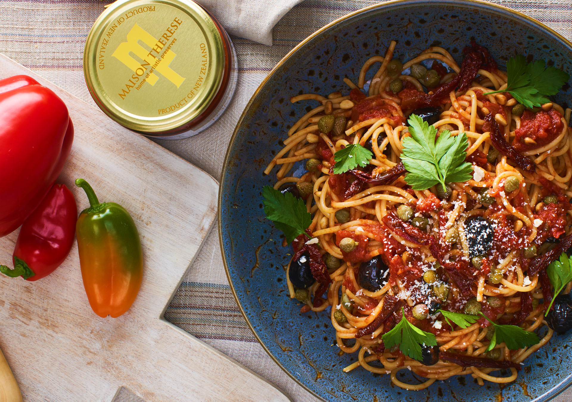 Maison Therese Pasta Sauce Example